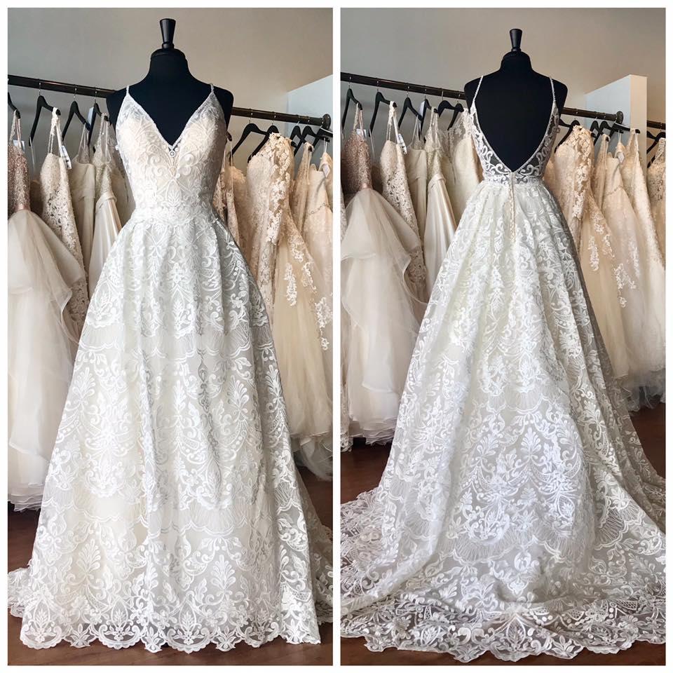 stunning open back dress
